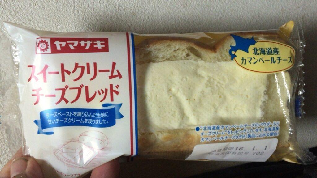 山崎製パン スイートクリームチーズブレッド