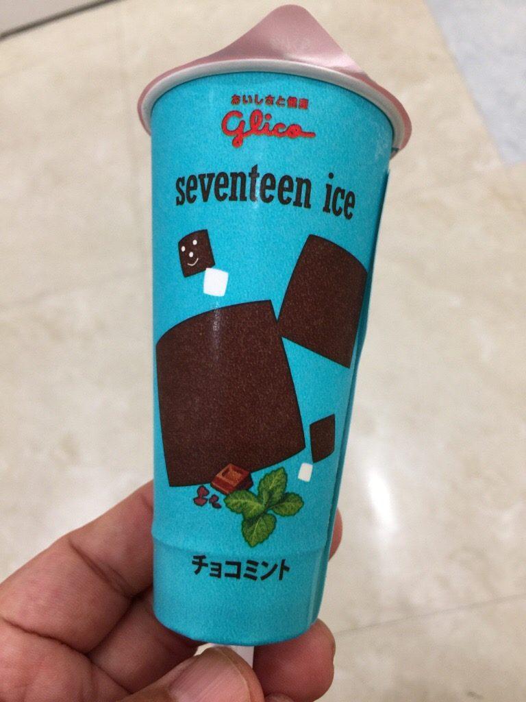 江崎グリコ セブンティーンアイス チョコミント