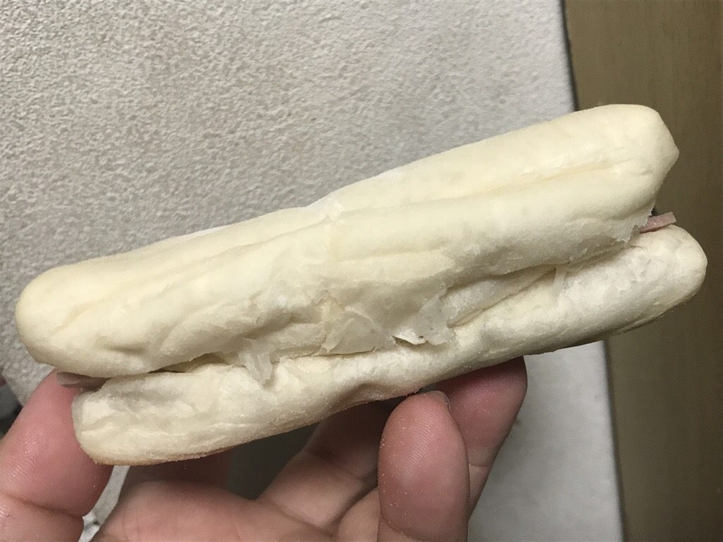 ミニストップ ミニストップカフェ  ハムとチーズのパン カマンベール風味