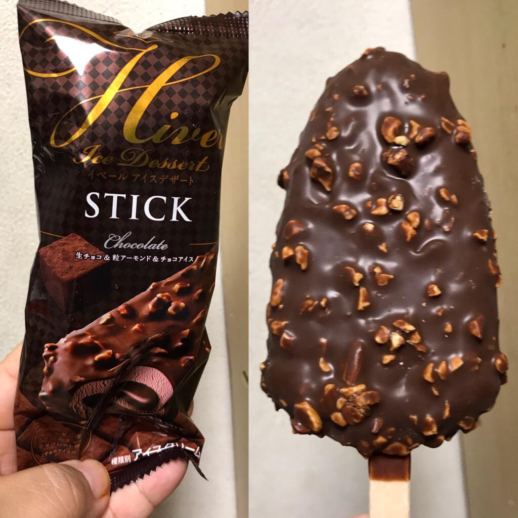 赤城乳業 イベールアイスデザートスティックチョコレート