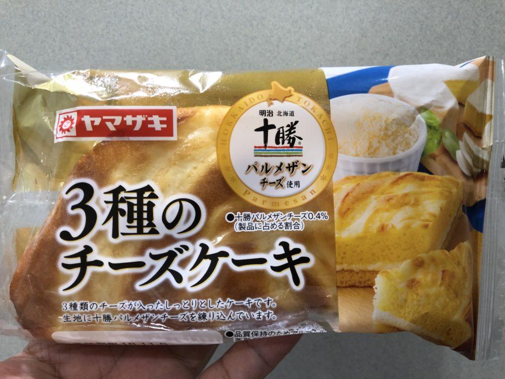 山崎製パン 3種のチーズケーキ
