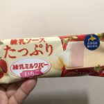 ロッテ 練乳ミルクバー いちご