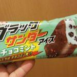 有楽製菓 ブラックサンダーチョコミントアイス