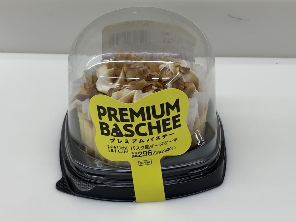 ローソン プレミアムバスチー バスク風チーズケーキ
