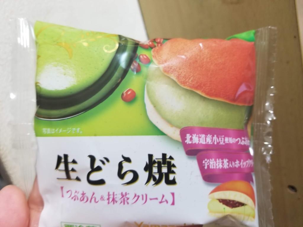 ヤマザキ 生どら焼 つぶあん&抹茶クリーム