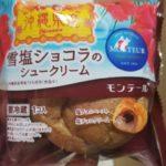 モンテール 小さな洋菓子店 雪塩ショコラのシュークリーム