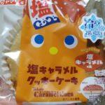 ヤマザキ 塩キャラメルクッキーケーキ キャラメルコーンのペースト使用