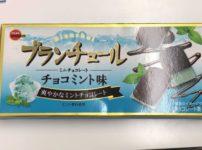 ブルボン ブランチュールミニチョコレートチョコミント味