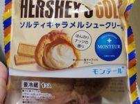 モンテールHERSHEY'S GOLD ソルティキャラメルシュークリーム