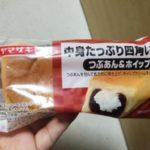 ヤマザキ中身たっぷり四角いパン つぶあん&ホイップ