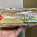 セブンイレブン 牛乳パンのかすてらサンド バニラ風味