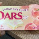 森永製菓 DARS 桃の白いダース