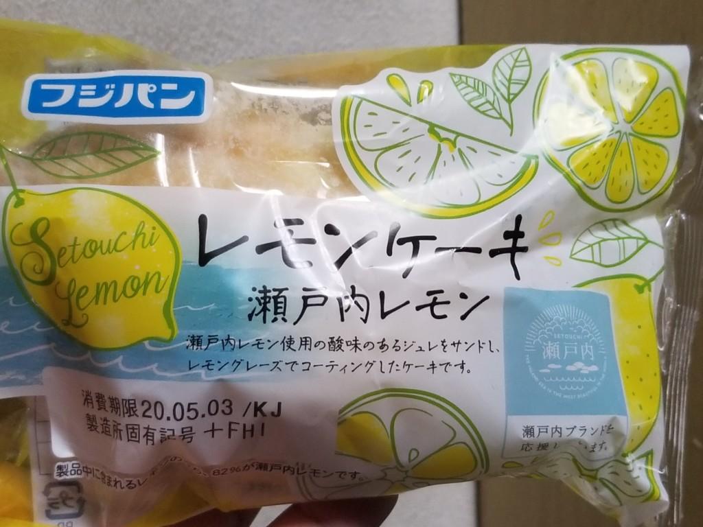 フジパン レモンケーキ 瀬戸内レモン