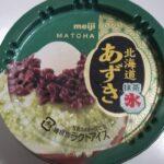 明治 北海道あずき 抹茶氷