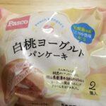 Pasco白桃ヨーグルトパンケーキ