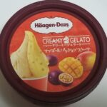 ハーゲンダッツクリーミージェラート マンゴー&パッションフルーツ 食べてみました。