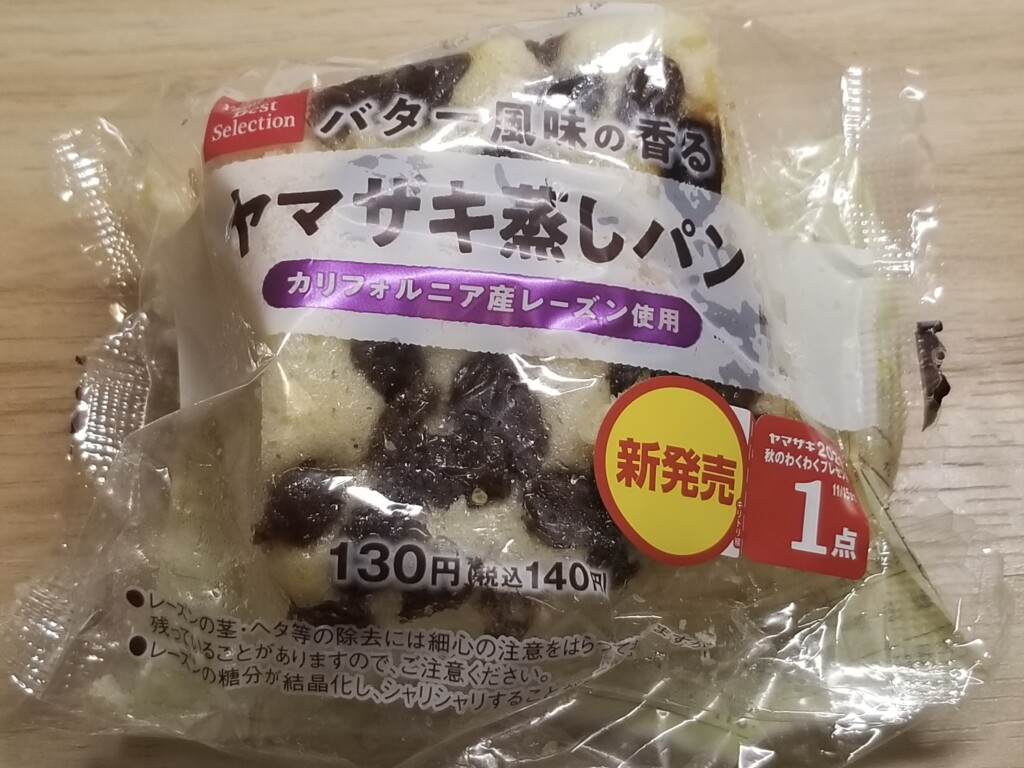 ヤマザキベストセレクション ヤマザキ蒸しパン カリフォルニア産レーズン使用